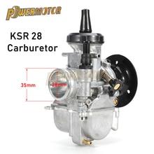 цена на Motorcycle Carburetor KSR Model 28mm Carburador KSR 28 carburetor Evolution Kit EVO Carb For Fit HONDA Yamaha For KTM 4 Stroke