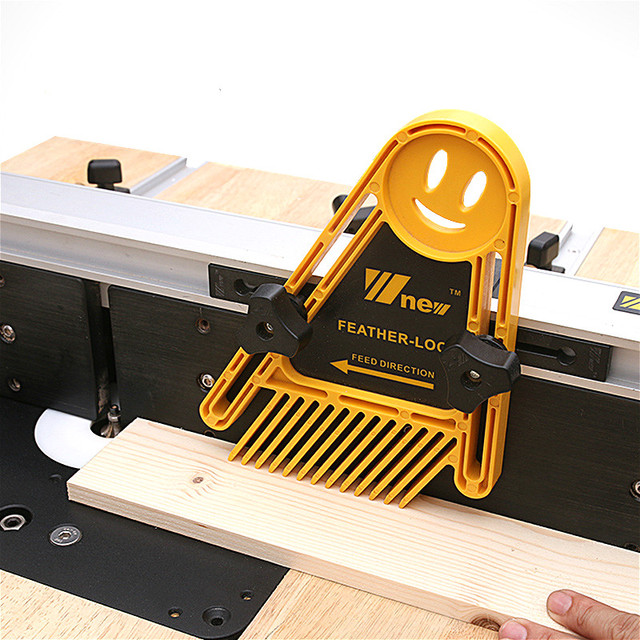 Woodworking Double Feather Loc Board Set Miter Gauge Slot T Track Woodwork Saw Table Fence DIY