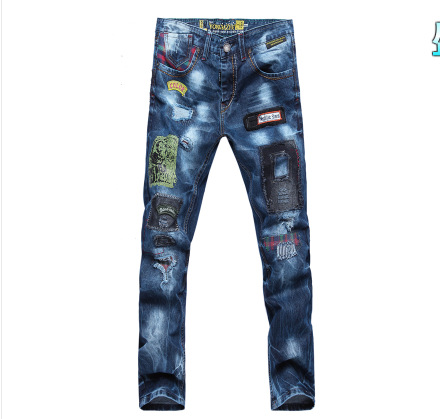Hot Selling MEN'S Jeans AliExpress For Occident Fashion Large Size Jeans Exclusive-8037