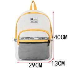 Fashion splice Women Backpacks High quality Schoolbags for Teenage girls Travel Backpacks College student Book bag Mochila 2020