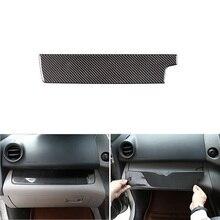 Alleen Rhd Zacht Carbon Fiber Center Controle Copiloot Dashboard Panel Sliver Cover Trim Voor Toyota Rav4 Rav 4 2006   2010 2011 2012