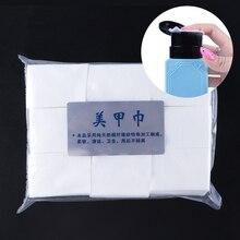 1 paket manikür UV jel oje kapalı ıslatın çıkarıcı pedleri tüy bırakmayan mendil pamuk Nail Art İpuçları yumuşak temiz mendil peçete LA253 1
