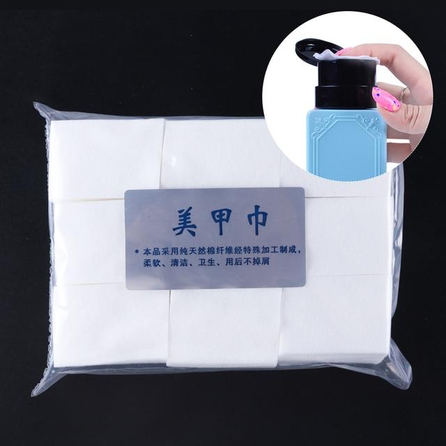1Pack Manicure UV Del Gel Del Chiodo Soak Off Remover Pads Privo di lanugine Salviette di Cotone Unghie Artistiche Punte Morbido E Pulito salviette Tovaglioli LA253 1