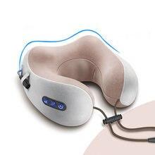 Интеллектуальный Электрический беспроводной массажер для шеи