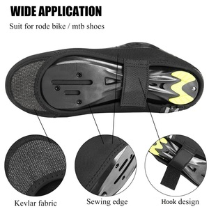 Image 2 - ROCKBROS Cycling Overshoes MTB Road Bike Shoe Cover Windproof Winter Shoe Cover Keep Warm Overshoes Toe Warmer Cycling Equipment
