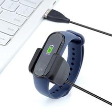 Для xiaomi mi band 4 зарядное usb-устройство с зажимом можно заряжать, не снимая ремешок