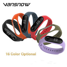 For Xiaomi Mi Band 4 3 Strap Smart Bracelet Wristband Replacement Belt Silicone Band4