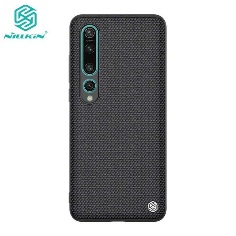 Case For Xiaomi Mi 10 Mi10 Pro 5G Casing Nillkin Textured Nylon Fiber Cover For Xiaomi Mi 10 Case