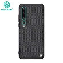 Xiaomi Mi 10 Case Nillkin Textured Nylon Fiber Cover for Xiaomi Mi 10T Lite 5G Mi10 Pro Ultra Case