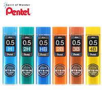 Pentel Pencil C275 Lead Refill Stein Enhanced Silica 0.5*60 mm 2H,H, HB, B, 2B, 3B, 4B Mechanical Pencil Writing Supplies
