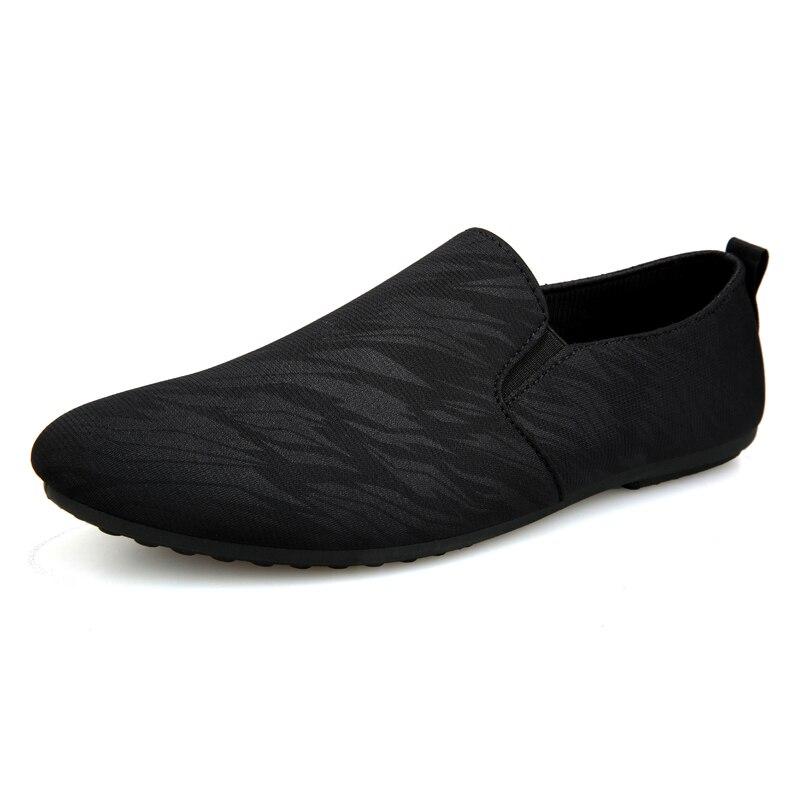 Мужские лоферы, удобная повседневная обувь на плоской подошве, дышащие мокасины из мягкой кожи без застежки, обувь для вождения, мужские мок...