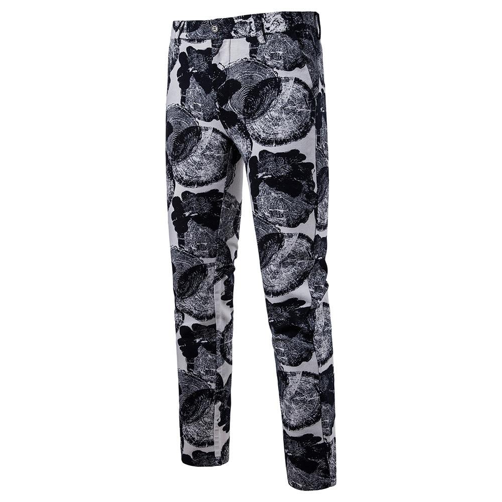 Мужская Мода Национальный Ветер Повседневное модные Для мужчин Блейзер Для мужчин s Брюки - Цвет: 03