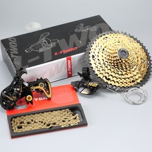 MTB 12 Speed Groupset 12s 11-52T Cassette Shifter Lever Rear Derailleur Gear Chain 12S Gold Kits For Shimano SRAM