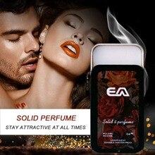 Portable Case Solid Perfume Portable Fragrances Women Men Solid Balm Mild Long Lasting Aroma Deodorant Fragrance