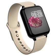 Спортивные умные часы B57, водонепроницаемые часы на системе Android, женские и мужские умные часы с сердечным ритмом, кровяное давление, умные часы для IOS телефона