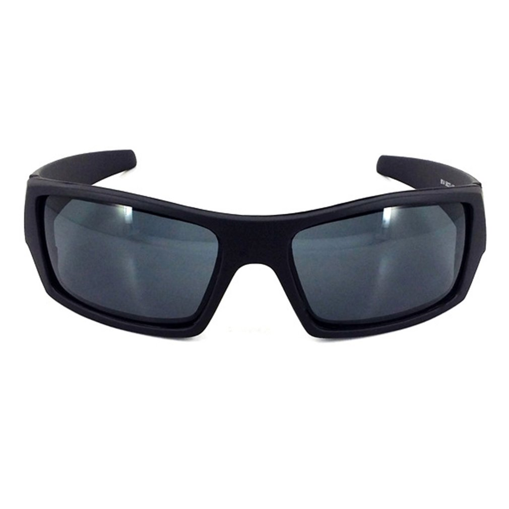 Sunglasses Driving Square Frame Super Dark Polarized Wrap Around Sports Glasses Bright black purple mercury C5 Outdoor
