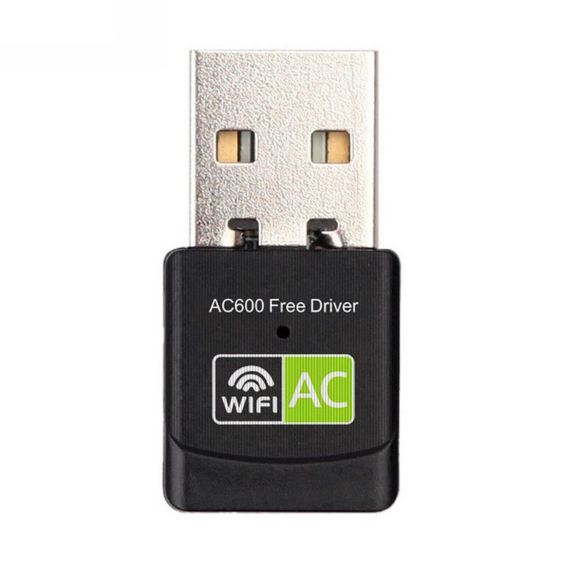 USB WiFi Adapter AC600 Mbps Dual Band 2.4 / 5Ghz Wireless USB WiFi Dongle For Laptop / PC / Desktop