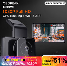 Dash Cam GPS Track 1080P WIFI Auto DVR 30FPS Ultra HD Super Nachtsicht Kamera Video Recorder Auto Telefon verbindung 24H Parkplatz