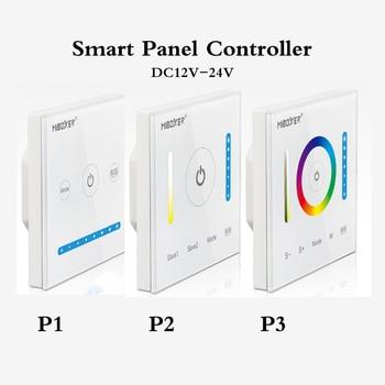 цена на P1/P2/P3 Smart Panel Controller Dimming DC12V-24V Led Dimmer RGB/RGBW/RGB+CCT Color Temperature CCT for Led Panel/Strip Light