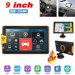 GPS Navigator 9 Inch 256MB+8G