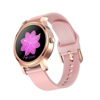 Full Screen 1.3 inch Smart Watch Fitness Heart Rate IP67 Waterproof Silicone strap Smart Band with iOS 8.0 or Android 4.3
