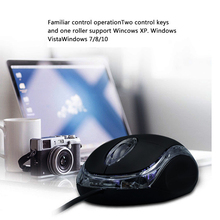 Wired Photoelectric Mouse Response Fast Sensitive Thin USB Cool gaming mouse For PC Laptop