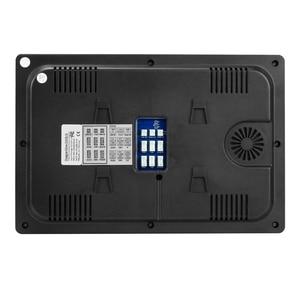 Image 3 - Проводной видеодомофон Homefong, монитор с 10 дюймовым сенсорным экраном, поддержкой AHD, дверной звонок, уличная камера с подключением, записью обнаружения движения
