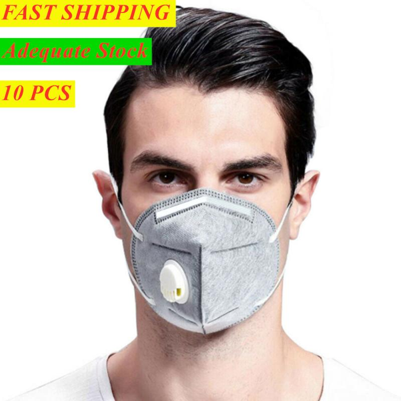 KN95/FFP2/FFP3 Masks 5-layer Civilian Mask With Breathing Valve Filter High Efficiency Anti-Dust Filtration Sanitary Convenient