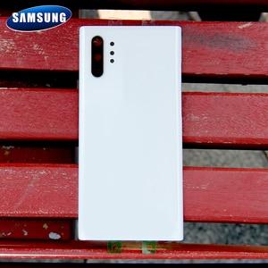 Image 5 - Original Samsung Battery Glass Back Cover for Samsung Galaxy Note 10 Note10+ Note10 Note 10 Plus Rear Housing Back Phone Case
