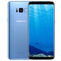 Оригинальный мобильный телефон samsung Galaxy S8, глобальная версия, LTE GSM G950F, четыре ядра, 5,8 дюймов, 12 МП ram, 4 Гб rom, 64 ГБ Exynos, NFC