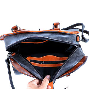 Image 5 - 2019 New Luxury Vintage Women Handbags Designer Brand Crossbody Bags Leather Women Shoulder Bag Laides Hand Bag Purse Tote