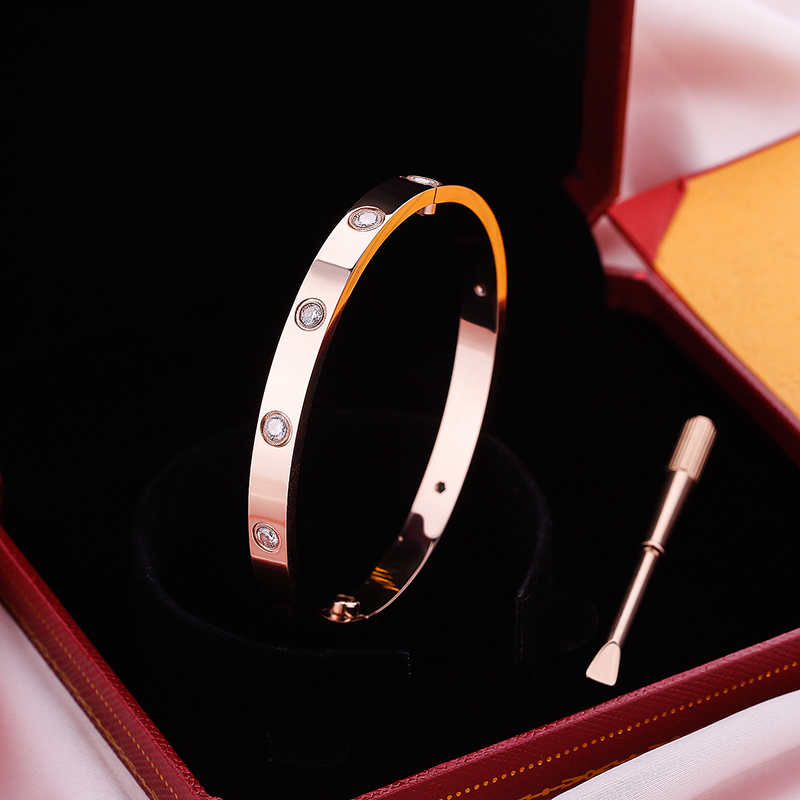 Frete grátis titânio aço oval casal jóias parafuso horizontal amor pulseiras, feminino masculino pulseiras femme bijoux pulseira