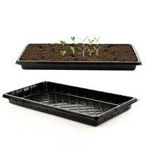 5 pçs durável jardim berçário pote bandeja para germinação planta berçário pote bandeja de propagação flor vegetal semente crescer pote