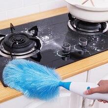 Регулируемая электрическая щетка из перьев для уборки пыли грязи