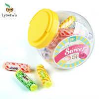 Lytwtw-Cinta de corrección de dulces Kawaii, suministros de papelería para oficina y escuela, regalo, Corrector de cosas bonito, novedad, 1 Uds.