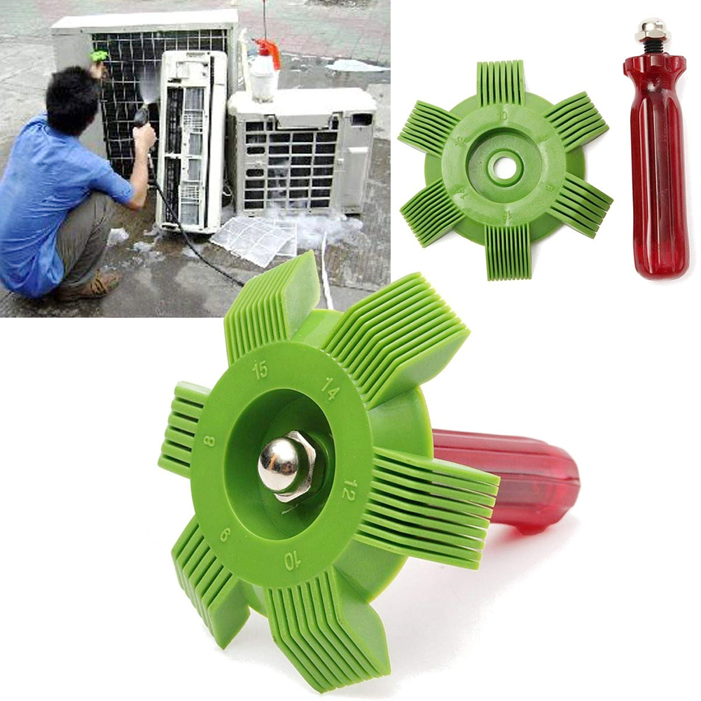 Car A/C Radiator Condenser Evaporator Fin Straightener Coil Comb PP For Auto Cooling System Tool