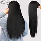 I s a wig Black Long...