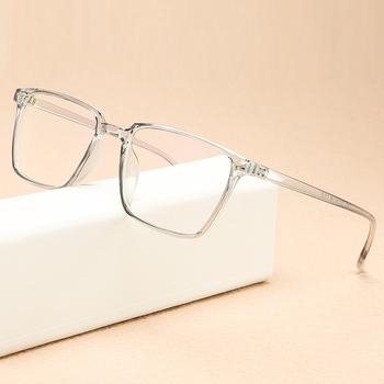 Kottdo okulary Vintage rama kobiety projektant mody przezroczyste ramki okularów na okulary męskie ramki plastikowe oko okulary tanie i dobre opinie WOMEN Z tworzywa sztucznego Stałe 2450