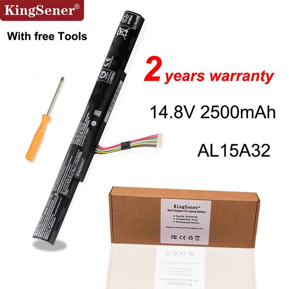 Kingsener AL15A32 Laptop Battery For Acer Aspire E5-422G 472 E5-473 E5-473G E5-522 522G E5-532 E5-532T E5-573G E5-553G V3-574G