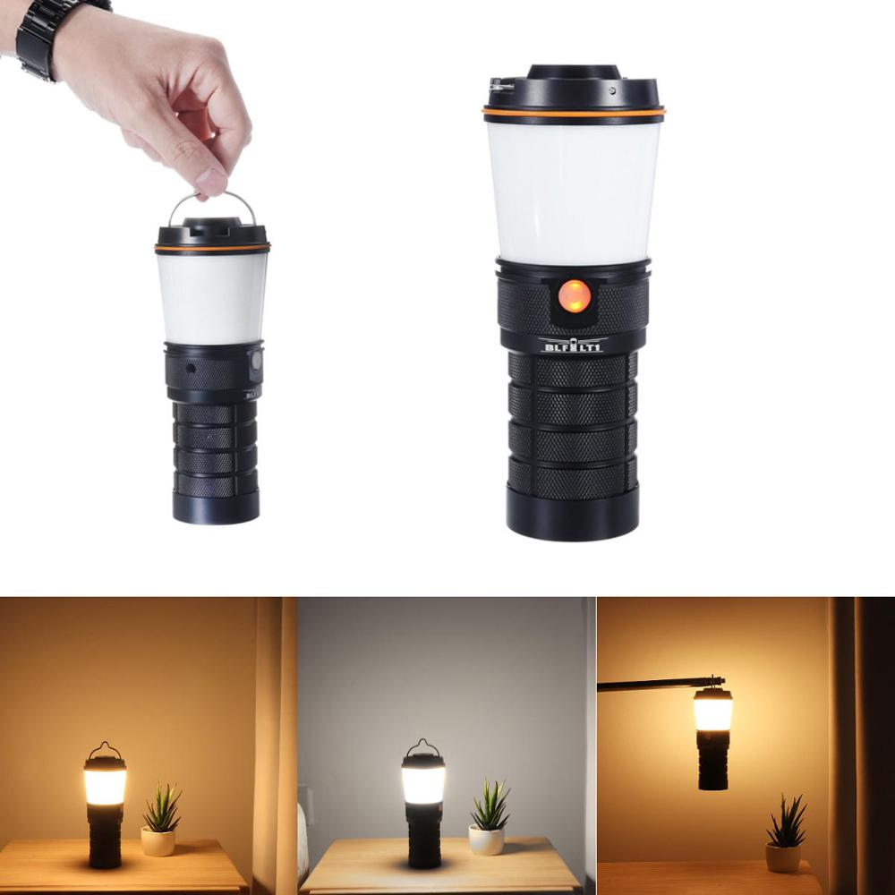 Sofirn BLF LT1 8 LH351D Camping Light Multiple Operation Procedure Super Bright Torch Variable Color 2700K to 5000K New version