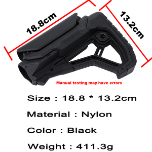 Image 5 - Tactical Nylon regulowany rozszerzony zapas dla wiatrówki CS Sport Paintball Airsoft Tactical BD556 Gel Blaster odbiornik skrzynia biegów