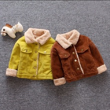 IENENS Winter 1PC Kids Baby Boys Girls Jacket Clothes Clothi