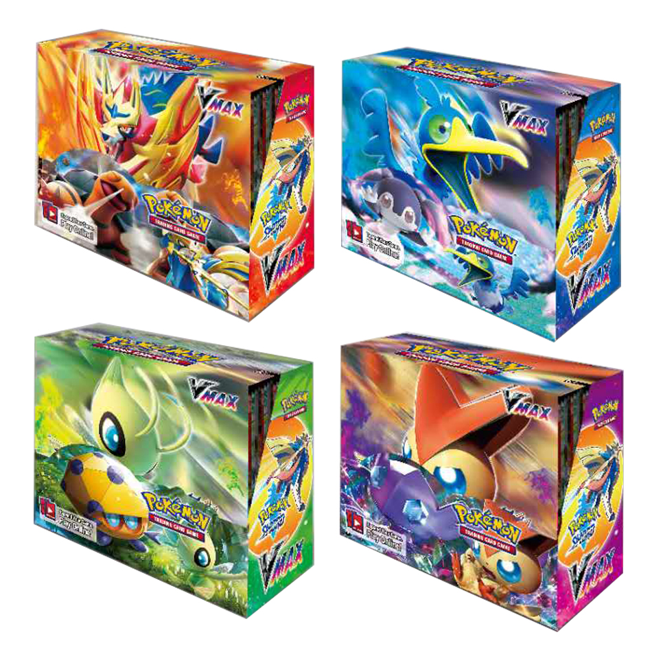 2020 NEW Pokemon cards Sun & Moon Evolutions Booster 324pcs  Box Collectible Trading Cards Game