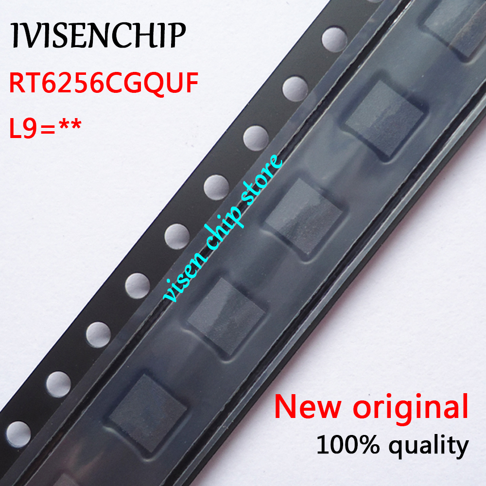 2-10pcs RT6256CGQUF RT6256CG RT6256C (L9=5K L9=3G L9=6J L9=... ) QFN-12