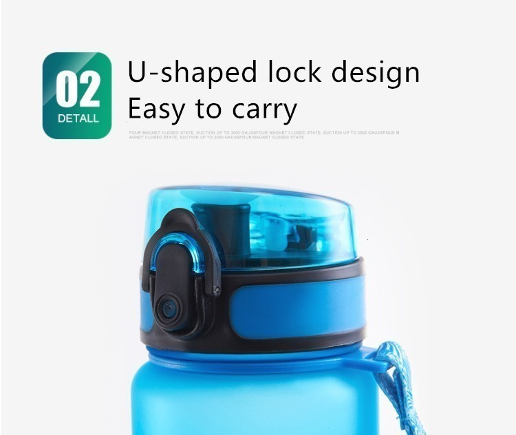 Hda384e9838d645e4a03d5c28139f0d90N Soffe Tritan Plastic Sport Drink Bottle Elastic Cover Space Bottle Riding Hiking Student Portable Outdoor Sport Water Bottles