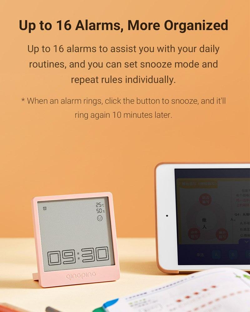 Despertador de QINGPING con opciones de domótica Xiaomi Mi Home