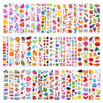 20 8 arkuszy dużo dzieci naklejki 3D Puffy luzem Cartoon Zoo zwierząt księżniczka naklejki na dziewczynę chłopiec prezent urodzinowy DIY zabawki dla dzieci tanie i dobre opinie CN (pochodzenie) 17cm cartoon stickers 0 01 TZ-2