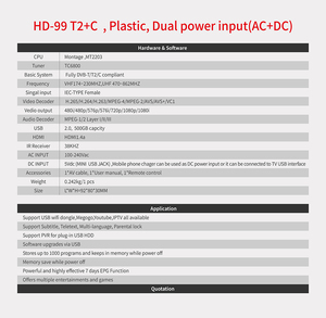 Image 4 - Dvb HD 99 T2 Tuner Dvb T2 Vga Tv Dvb t2 Voor Monitor Adapter USB2.0 Tuner Ontvanger Satelliet Decoder Dvbt2 Russische Handleiding