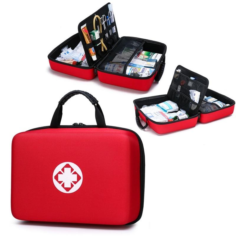 Домашний набор первой помощи для автомобиля, набор для выживания, кемпинг, Водонепроницаемые многофункциональные медицинские аксессуары, ...