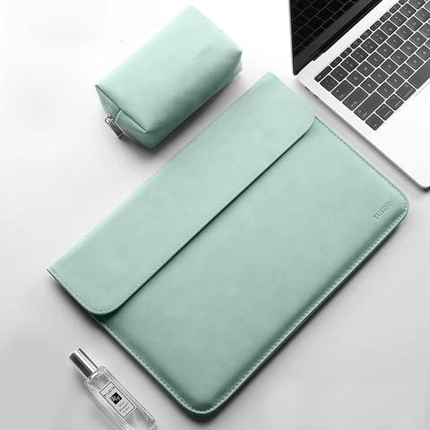 Sleeve Laptop bag For Macbook Pro 13 case Air 13.3 Retina 14 15 XiaoMi 15.6 lenovo HP Notebook Cover Huawei Matebook 16.1 Shell